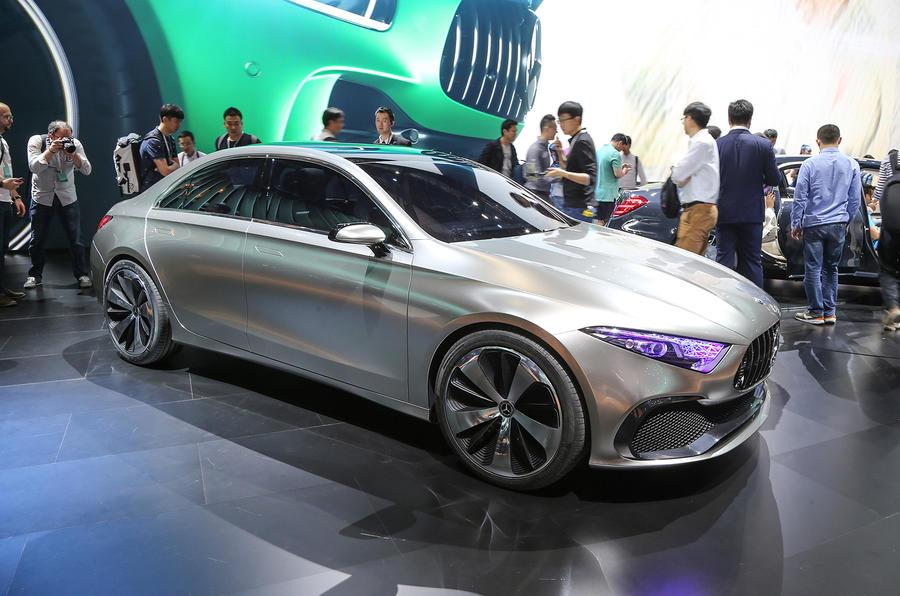 Mercedes Concept A Saloon