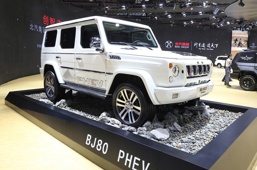 BAIC BJ80 PHEV Mercedes-Benz G-Wagen clone
