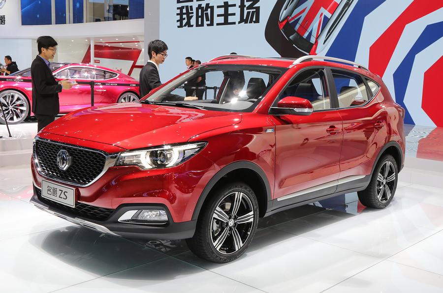 Nissan Juke-rivalling MG ZS SUV shown at Shanghai motor show