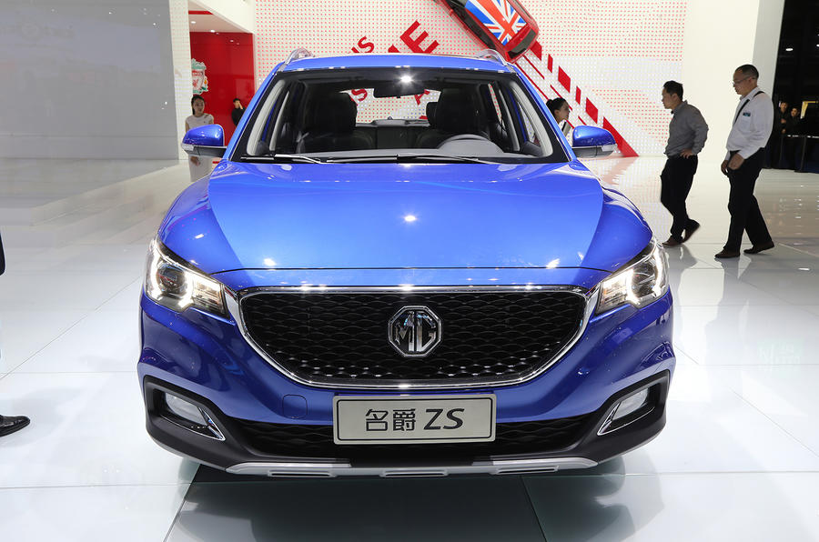 MG XS to be launched in Britain in October as Dacia Duster