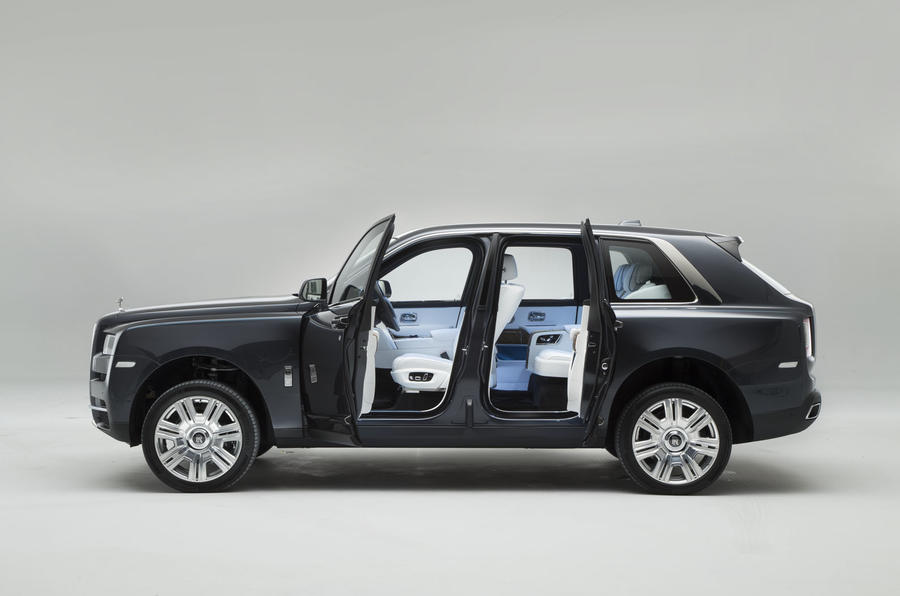 Rolls Royce Cullinan Revealed Exclusive Pictures Of