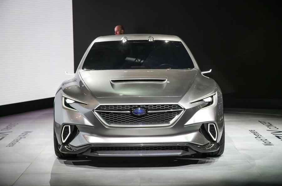Subaru Viziv Tourer concept shows look of future hot ...