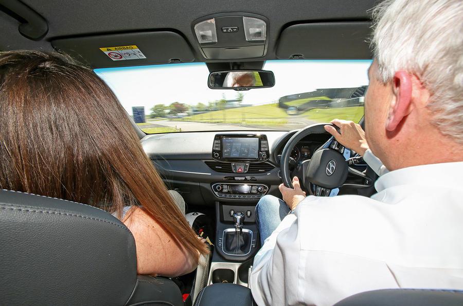 Hyundai i30 N longterm review Albert Biermann driving