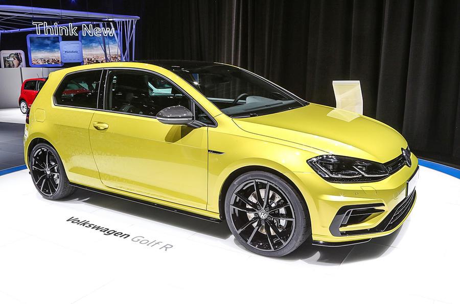 Volkswagen Golf R in Geneva