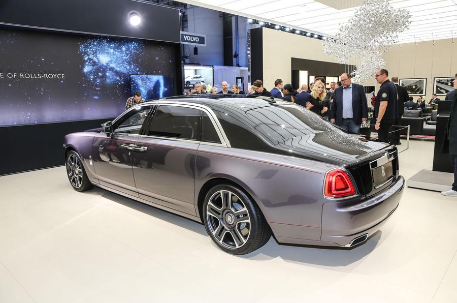 Bespoke Rolls-Royce Ghost Elegance heads trio of special ...
