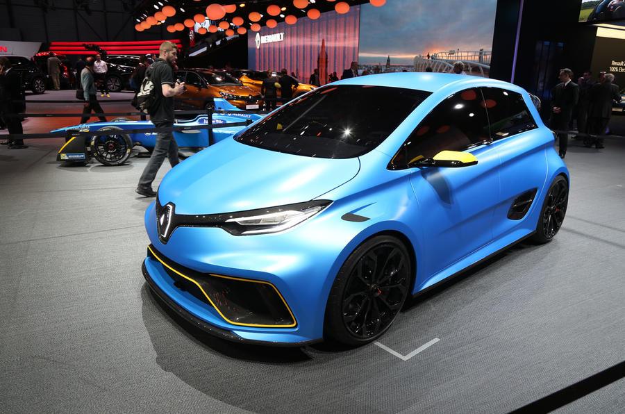 Coolest electric vehicle  ever? Renault unveils ZOE e-sport concept