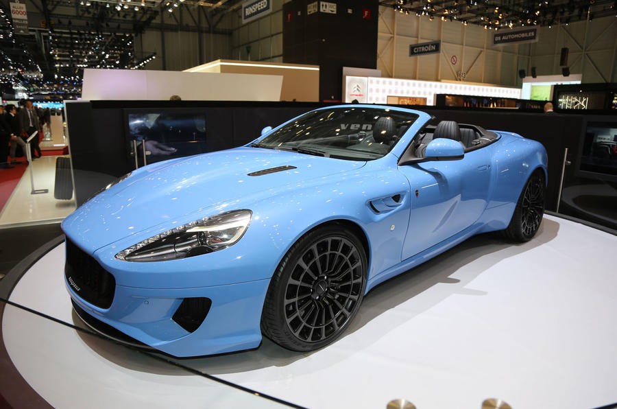 Kahn Vengeance Volante Aston Martin Db9 Based Sports Car HD Wallpapers Download free images and photos [musssic.tk]