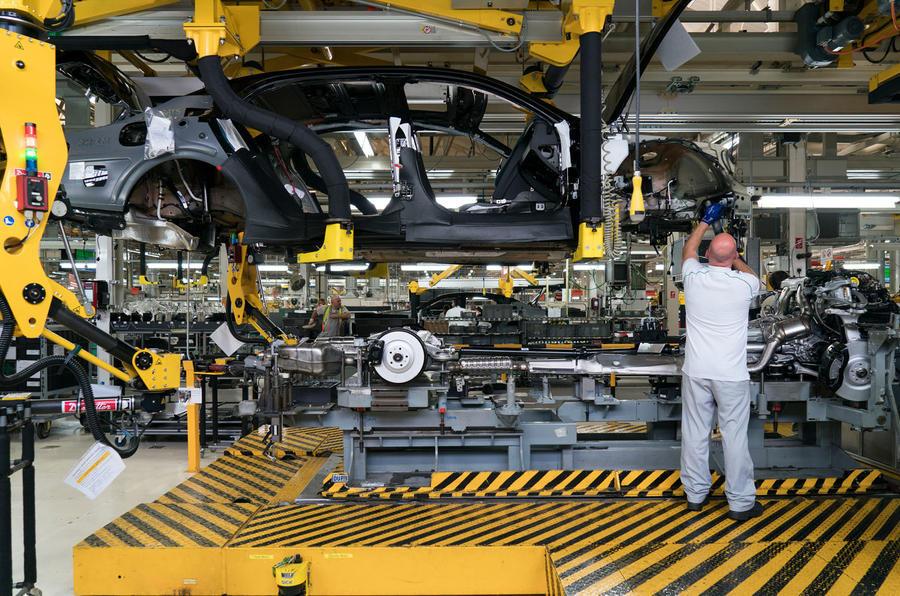 Slump in UK auto  production UK News