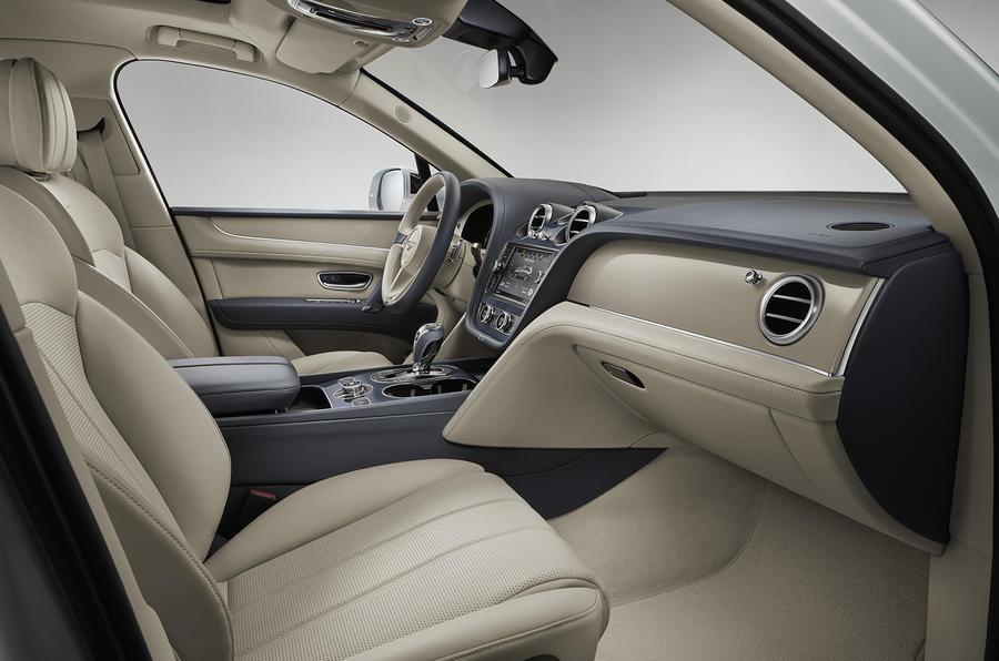 2019 Bentley Bentayga Hybrid - interior