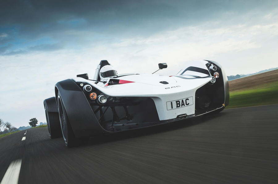 BAC Mono 2018 UK first drive review - hero low