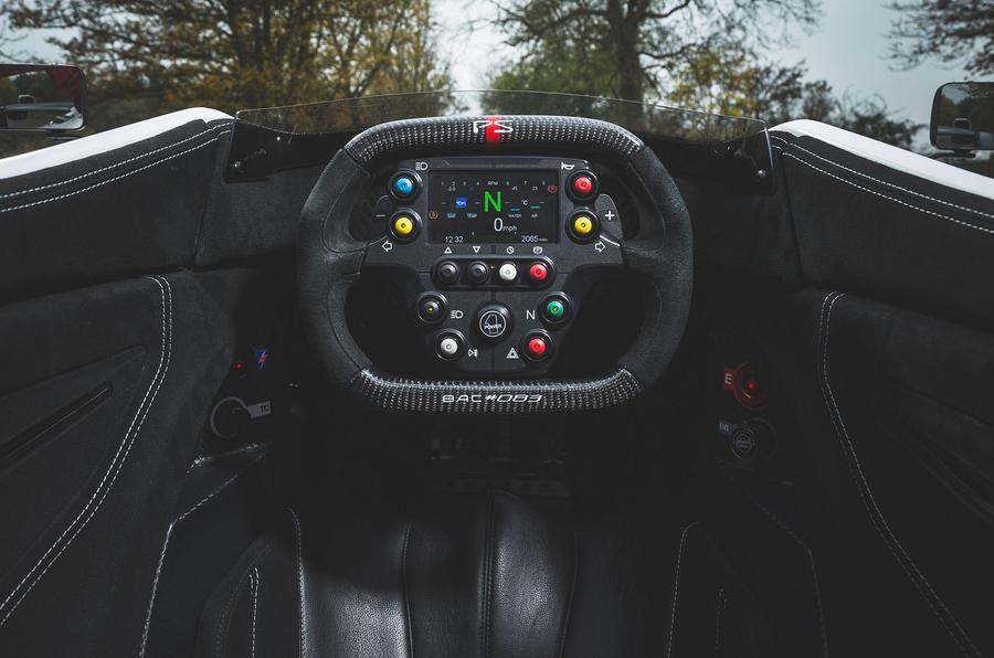 BAC Mono 2018 UK first drive review - cockpit