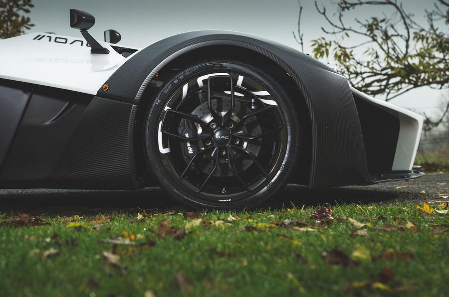 BAC Mono 2018 UK first drive review - alloy wheels
