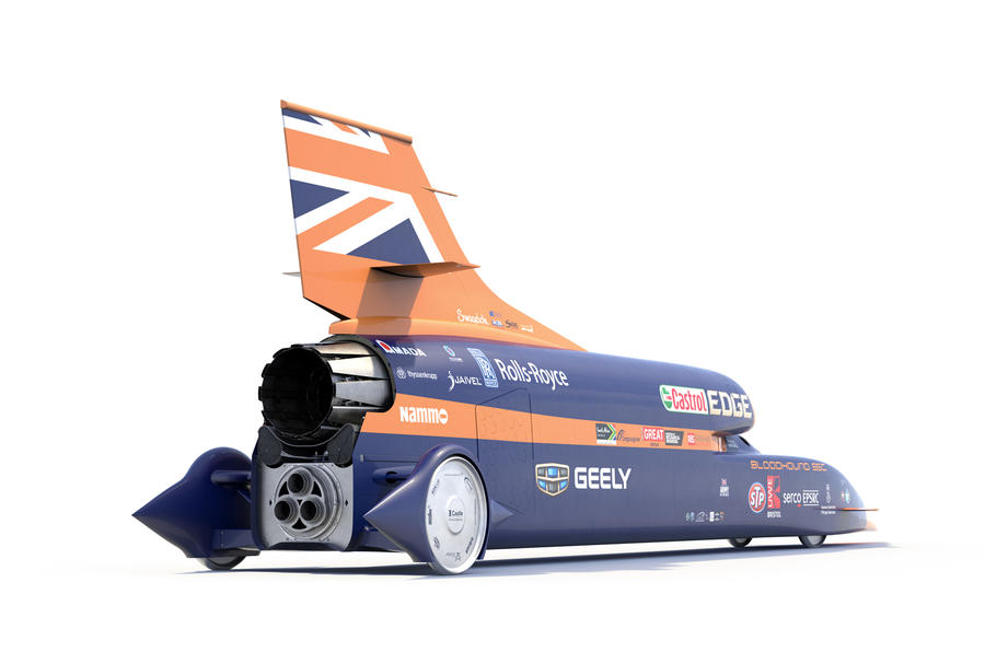 1000mph Bloodhound to begin initial speed tests in October