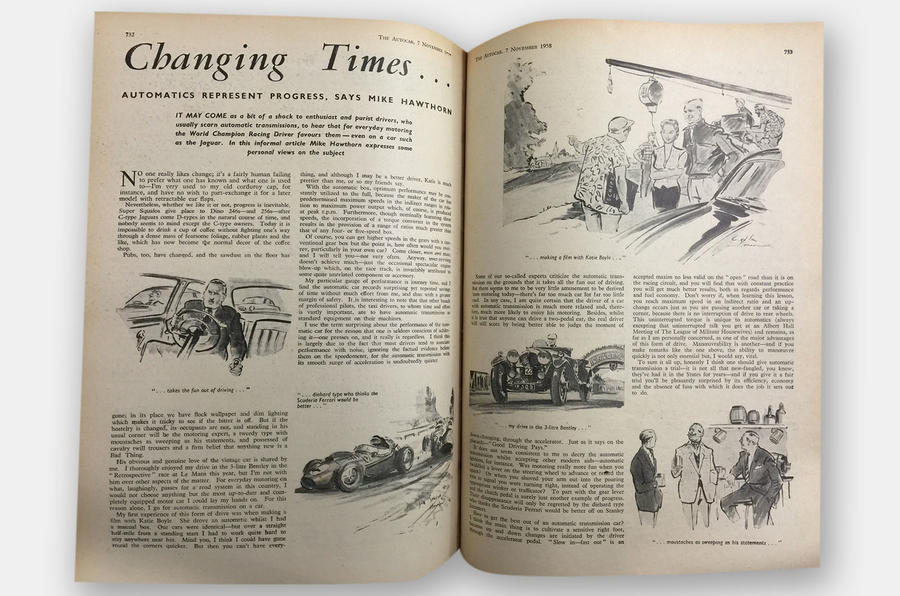 Hawthorn's original article in Autocar