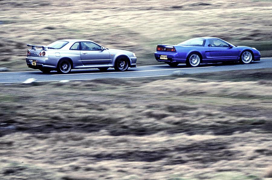 Detroit Backpage Com >> Honda NSX vs Nissan Skyline GT-R - Throwback Thursday | Autocar