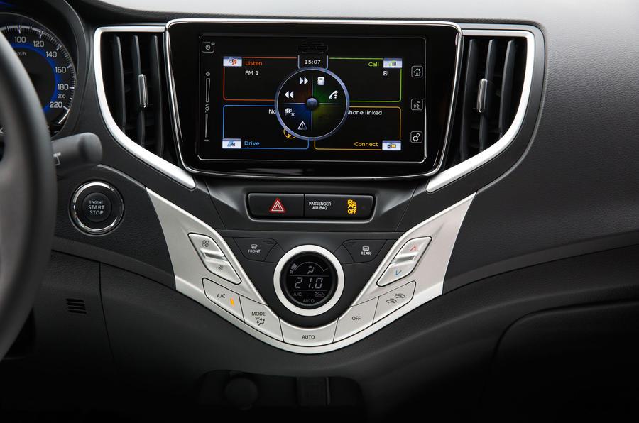 Suzuki Baleno infotainement system