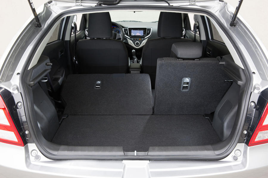Suzuki Baleno seating flexibility