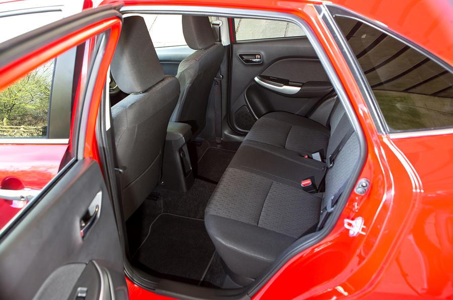 Suzuki Baleno rear seats
