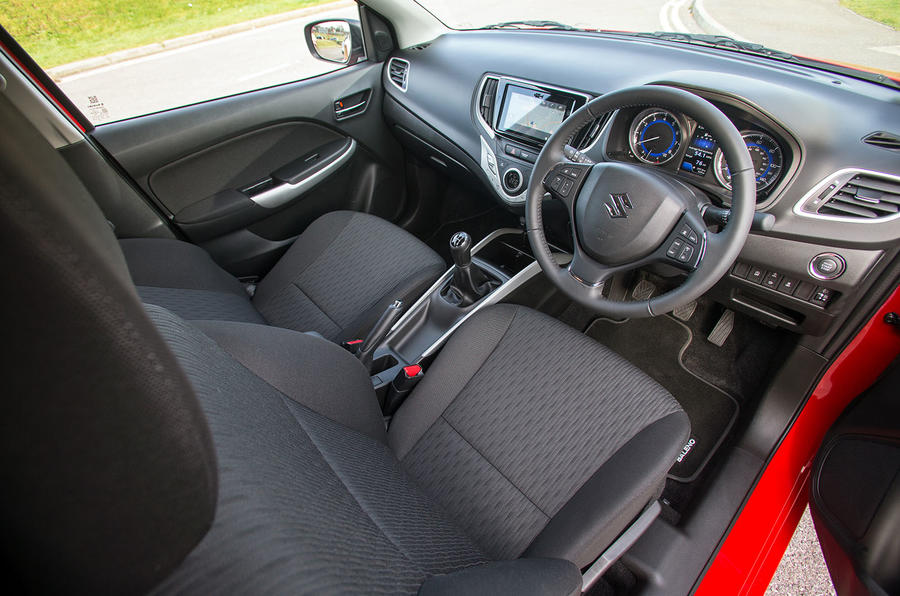 2016 suzuki baleno 1 0 boosterjet sz5 review review autocar. Black Bedroom Furniture Sets. Home Design Ideas