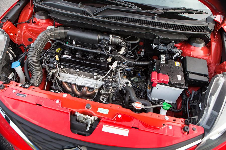 1.0-litre Boosterjet Suzuki Baleno engine