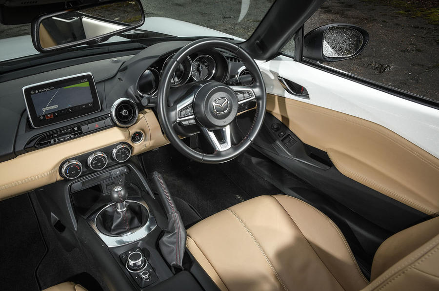 BBR Mazda MX-5 2018 interior