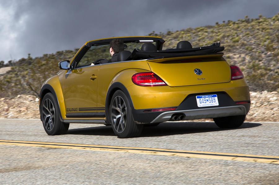 2016 Volkswagen Beetle Dune 1 8 Tsi Cabriolet Prototype