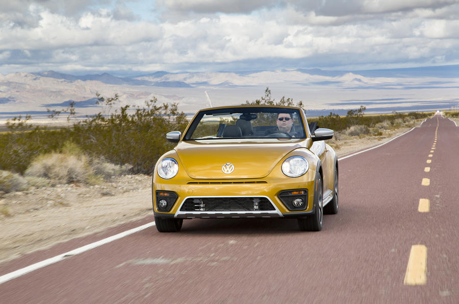 Volkswagen Beetle Dune on US roads