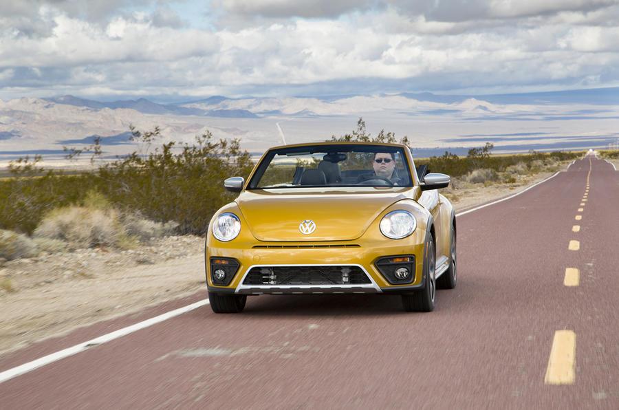 Volkswagen Beetle Dune on US roads