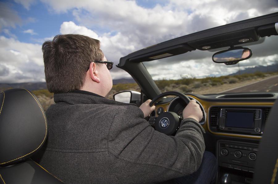 Driving the Volkswagen Beetle Dune