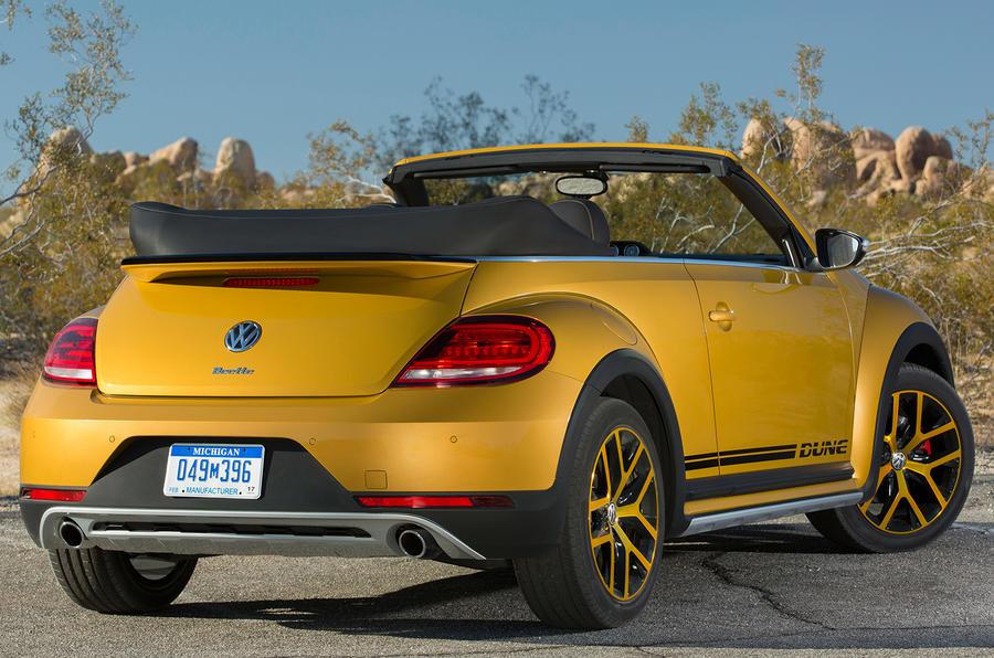 Volkswagen Beetle Dune rear quarter