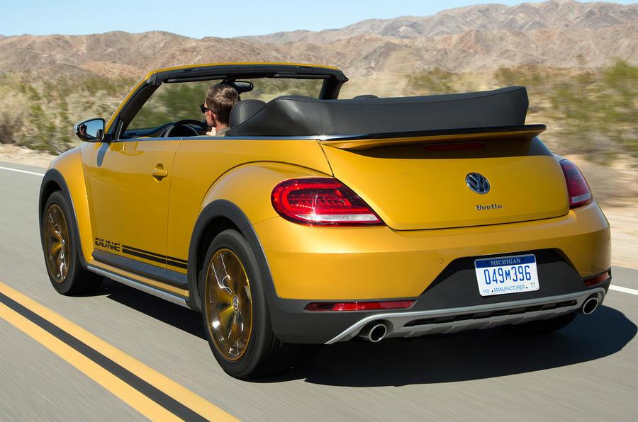 Volkswagen Beetle Dune Cabriolet rear