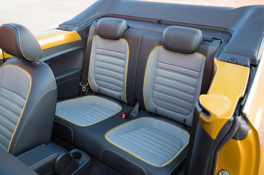 Volkswagen Beetle Dune rear seats