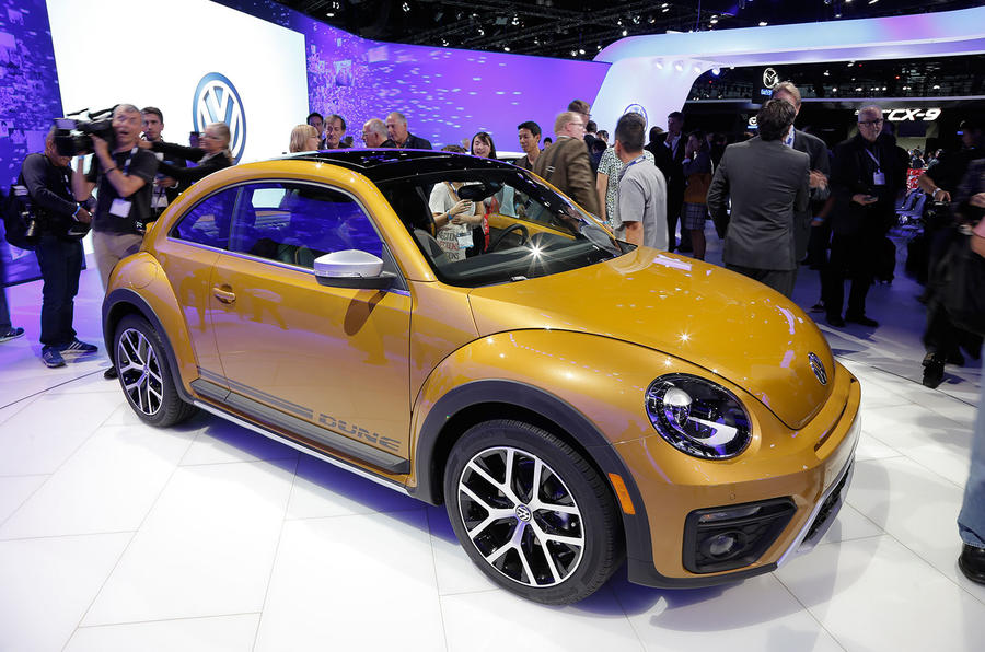 Car Engines For Sale >> 2016 Volkswagen Beetle Dune now on sale | Autocar