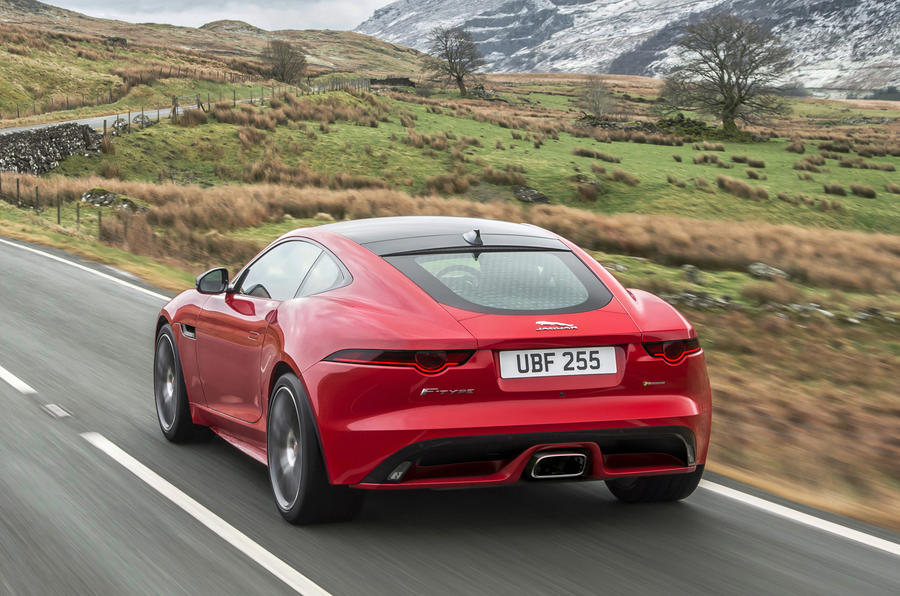 Jaguar F-Type four-cylinder