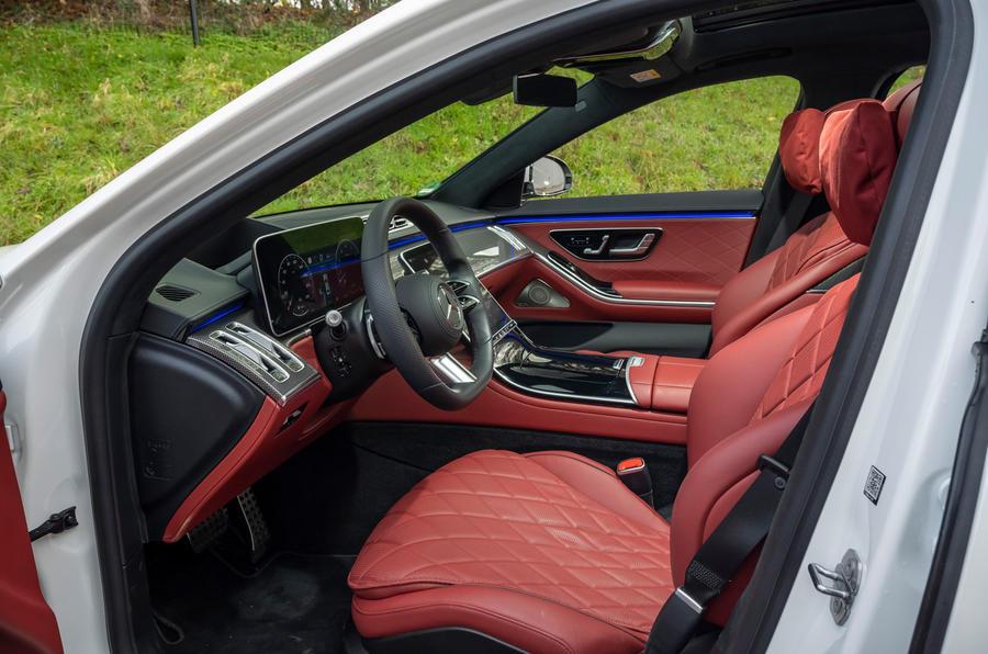 Mercedes S-Class S500 2020 (LHD) : premier examen de conduite au Royaume-Uni - cabine