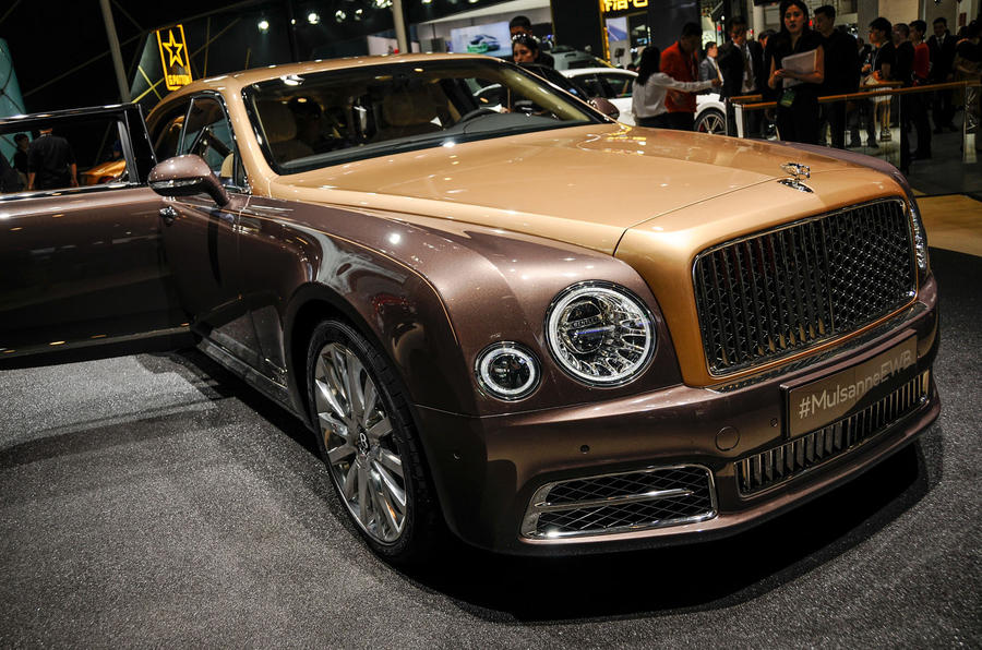 Bentley Mulsanne First Edition Makes World Debut In