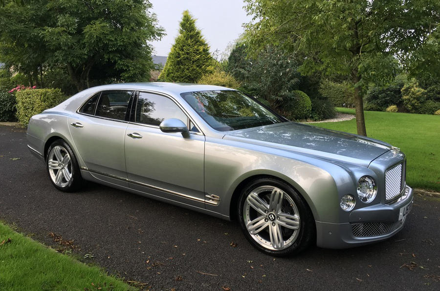 Lister CEO auctions Bentley Mulsanne with no reserve