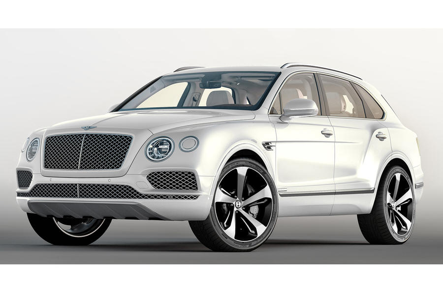 bentley bentayga first edition revealed ahead of la motor show autocar. Black Bedroom Furniture Sets. Home Design Ideas