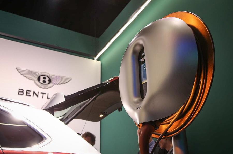 Bentley Bentayga Hybrid charger
