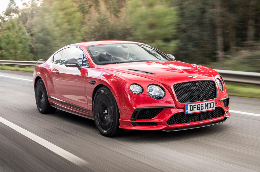 Beautiful Bentley Continental Supersports Front View ...