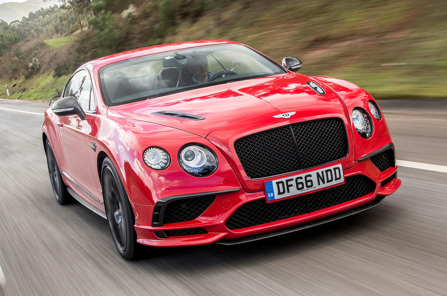 Bentley Continental Supersports front view
