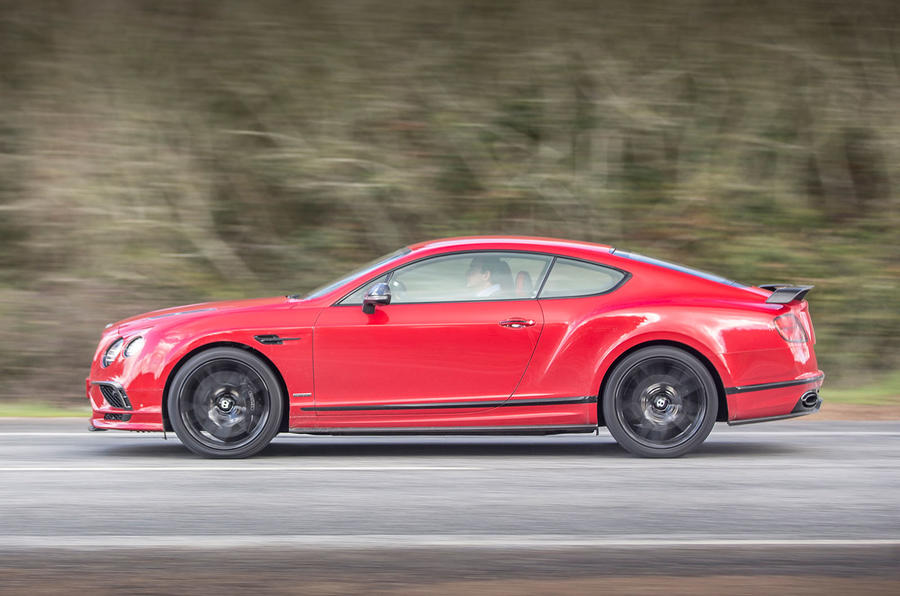 Bentley Continental Supersports side view