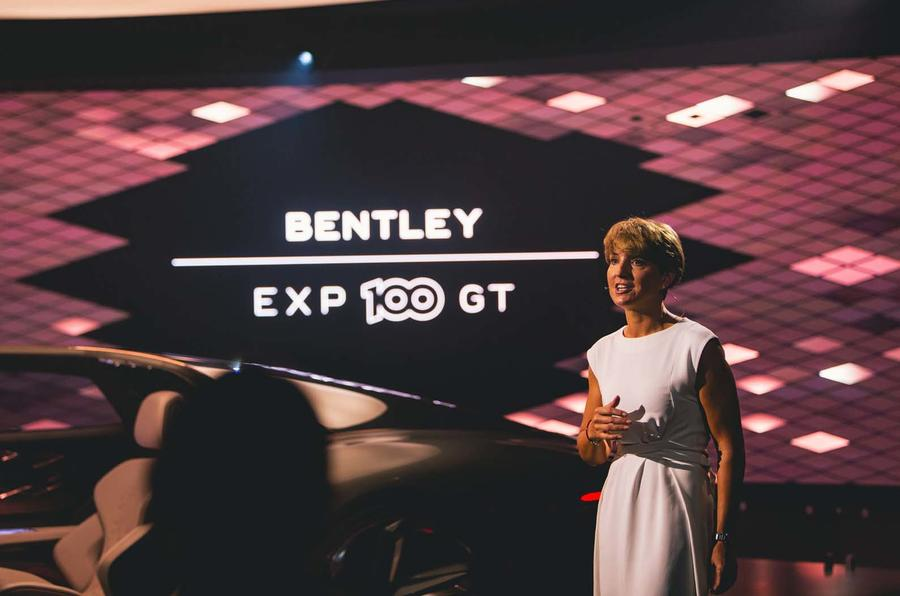Autocar visits Bentley HQ to view EXP 100 GT