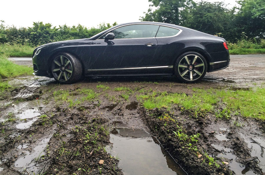 Bentley Continental GT long-term test review: all-wheel drive vs mud