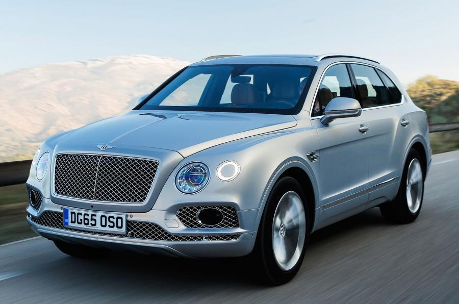 The Bentley Bentayga tackles the asphalt and the rough stuff