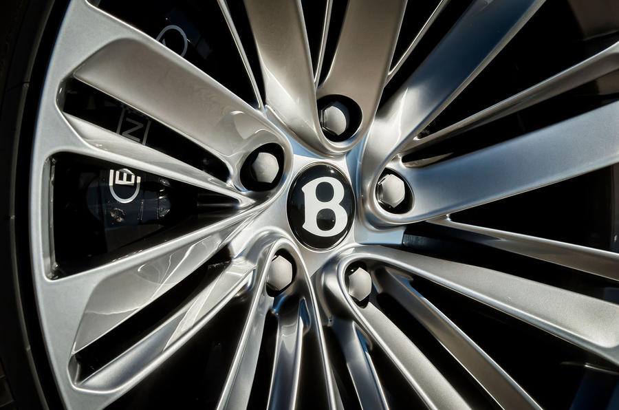 Bentley Bentayga Speed wheel