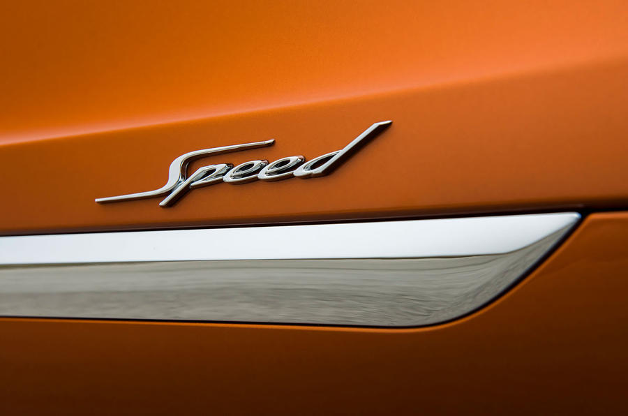 Bentley Bentayga Speed badge