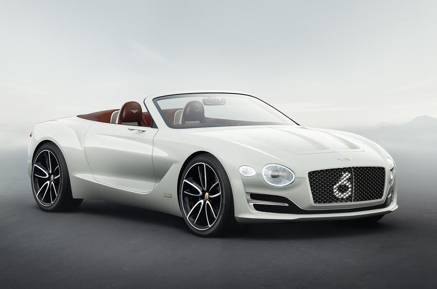 Electric Bentley EXP12 Speed 6e roadster revealed in Geneva