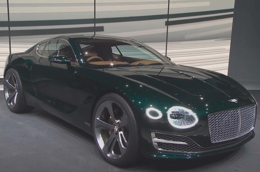 Bentley Exp 10 >> New Bentley Exp 10 Speed 6 Concept Previews Two Seat Sports