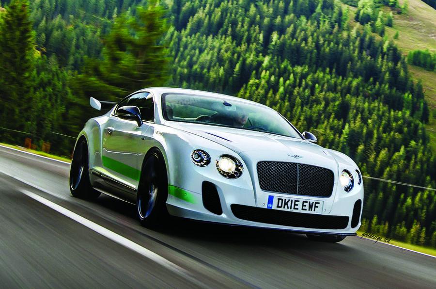 Bentley sports car 2016